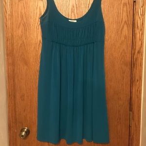 Loft Turquoise Sun Dress